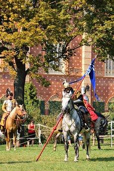 Sommerfest, Knight, Knight's Castle, Castle, Drag