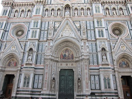Florence, Cathedral, Architecture, Church, Old Building