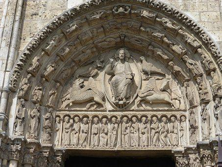 Chartres, Cathedral, Monument, France