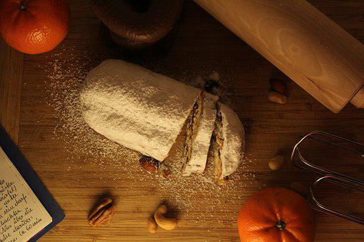 Bake, Christmas Time, Christmas Stollen, Homemade