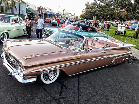 Classic Cars, Car Show, Chevy, Route 66, Old Cars
