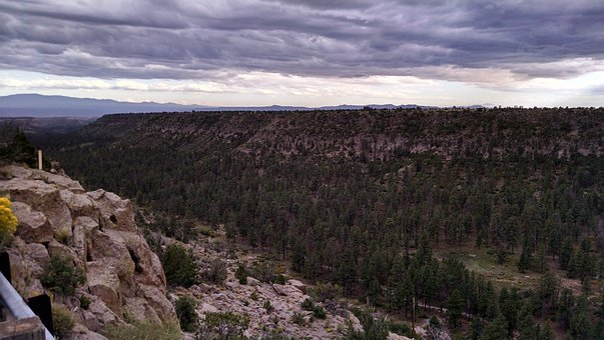 Cloudscape, Valley, Mesas, Desert, Sky, Nature, Scenic