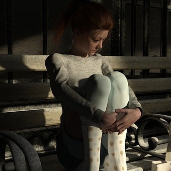 Sadness, Hopeless, Trist, Grey, Sad, Pain, Depression