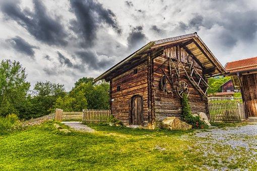 Hut, Scale, Alpine Hut, Building, Home, Swap, Bavaria