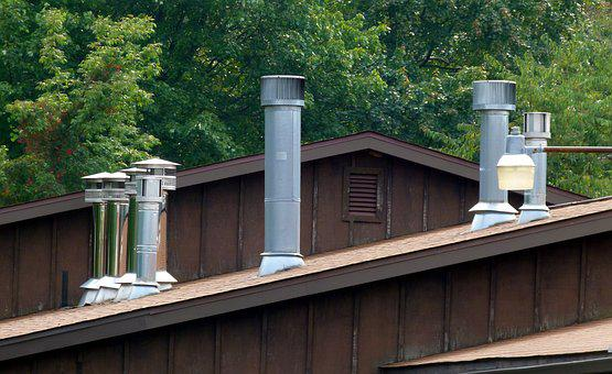 Chimney, Small, Roof, House, Home, Residential