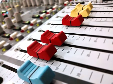 Audio Console, Music, Electronics, Audio, Sound