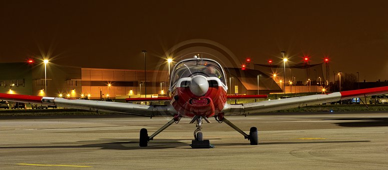 Night, Plane, Airshow, Airbus, Sparkle, Explosion