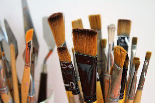 Brushes, Brush, Paintbrush, Paint, Artistic, Painting