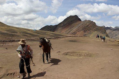 Vinicunca, Peru, Raimbow, Mountain, Cusco, Cuzco
