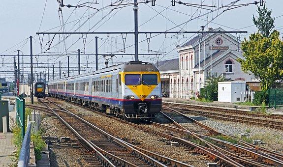 Railway, Belgium, Regional Train, Regional Traffic