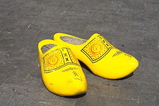 Clogs, Shoes, Pair, Netherlands, Amsterdam, Wooden