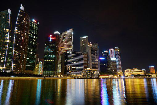 Singapore, The Work, Office, Long Exposure, Skyscraper