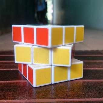 Game, The Game, Rubik's, Objects, Small
