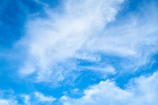 Cloud, Blue, White, Summer, Clouds, Landscape, Nature