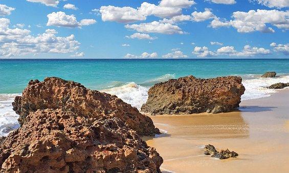 Beach, Sea, Holiday, Sun, Sunshine, Sunset, Sunrise