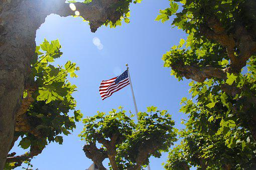 Flag, America Flag, Stars, America, Usa, Symbol, United