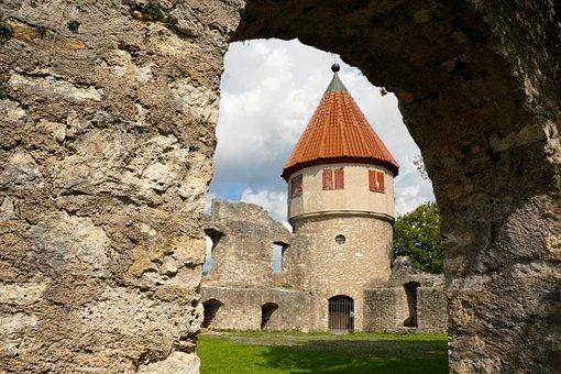 Tuttlingen, Tower, Castle, Middle Ages, Germany