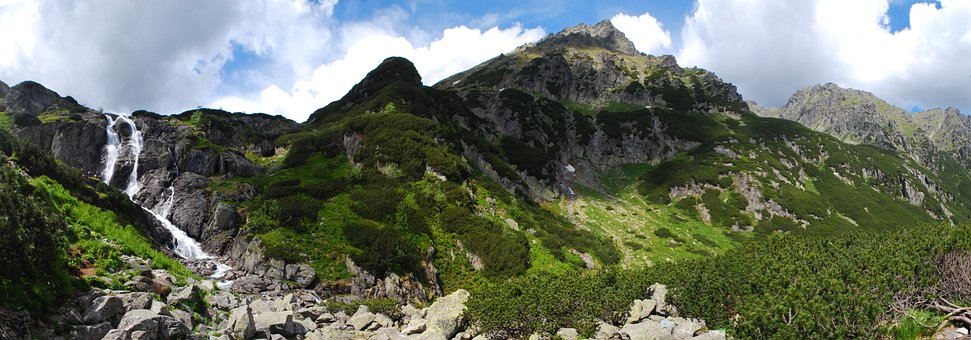 Mountains, Buried, Tatry, Landscape, Nature, Mountain
