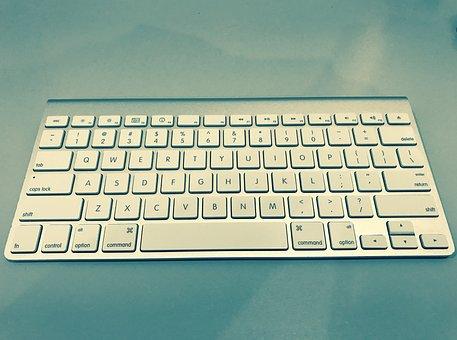 Apple, Keyboard, Notebook, Technology, Desk, Work