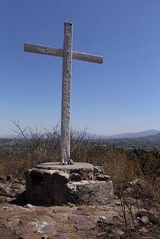 Cruz, Sky, Church, Catholic, Faith, Christ