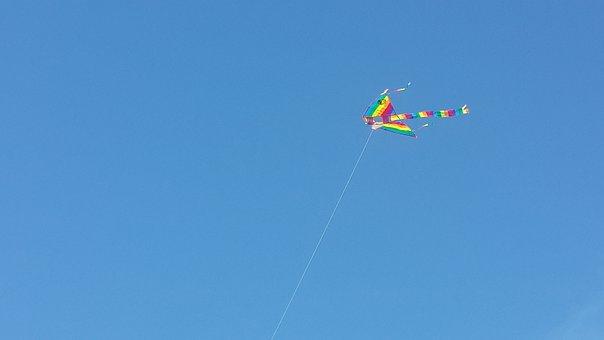 Sky, Kite, Flight, Height