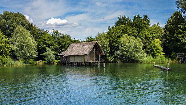 Stilt Houses, Germane, Haus Am See, Lake Constance