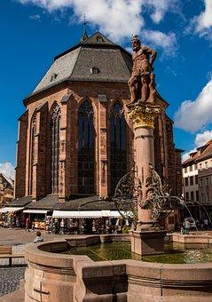 Heidelberg, Marketplace, Historically, Old Town