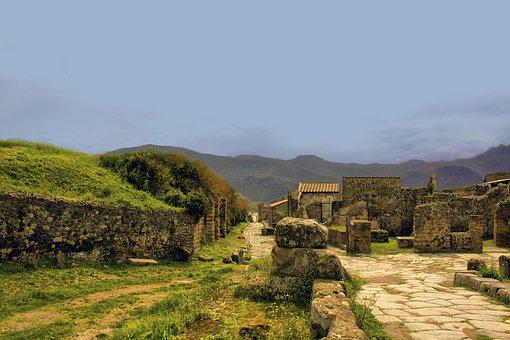 Pompeii, Italy, Architecture, Landmark, City, Ancient