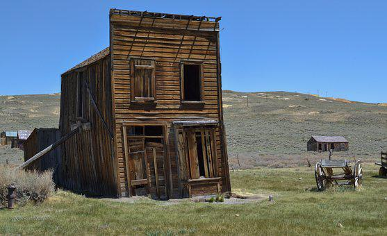 Bodie, Ghost Town, Wild West, Old, Leave, America