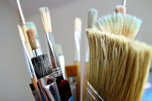 Brush, Brushes, Paint, Artistic, Artist, Paint Brush