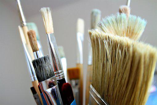 Brush, Brushes, Paint, Artistic, Artist, Paint Brush