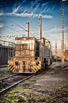 Train, Locomotive, Railway, Loco, Rail, Traffic