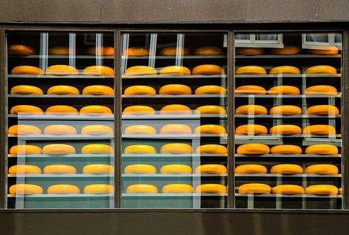 Cheese, Amsterdam, Street, Shop, Netherlands, Holland