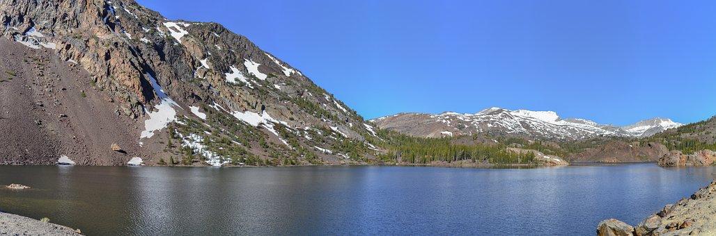 Yosemite, Ellery Lake, Sierra Nevada, Usa California