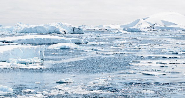 Antarctica, Ice, Caps, Mountains, Penguin, Ice Bergs