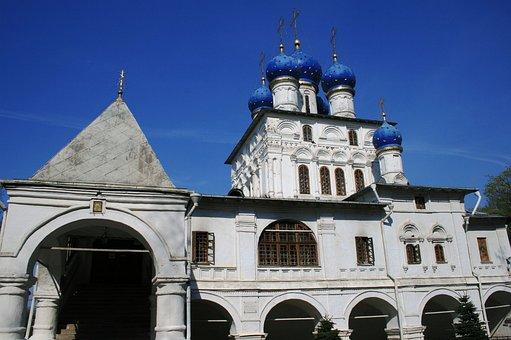 Church, Building, Architecture, White Walls