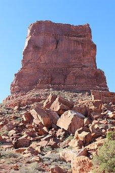 Southwest, Mesa, Rock, Landmark, America, Desert