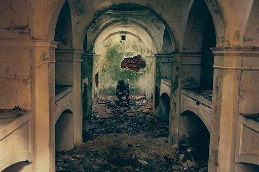 Bombed, Building, Destruction, War, Warfare, Terrorism