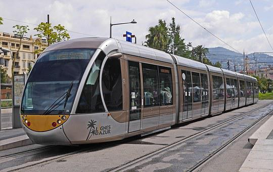 Nice, Tram, Futuristic, New, Grid Expansion, Hybrid