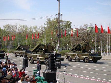 Parade, Victory Day, Samara, Russia, Area, Adms Wasp