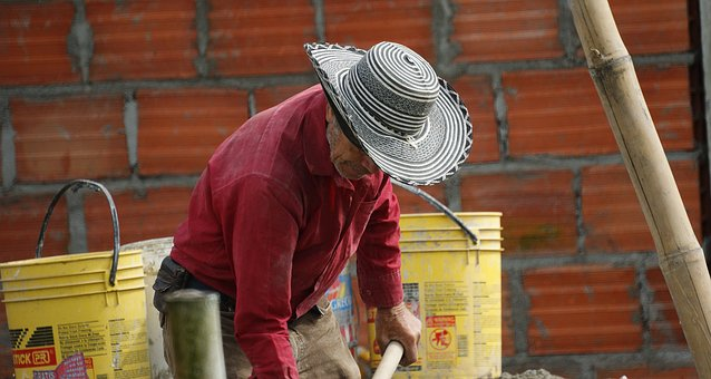 Man, Adult, Worker, Colombia