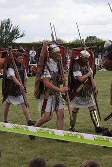 Roman, Legion, Historical, Legionary, Armour, Helmet