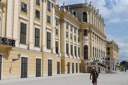 Austria, Vienna, Park, Architecture, Castle Park
