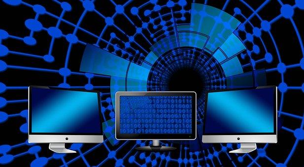 Monitor, Binary, Binary System, Computer, Data, Dataset