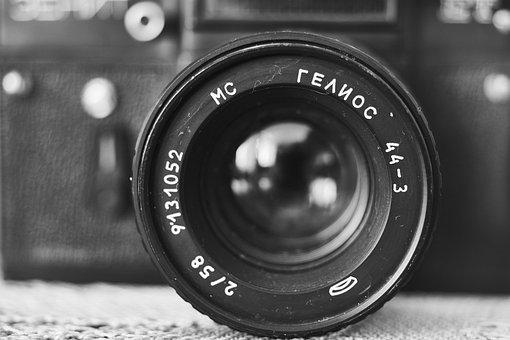 Camera, Movie, Old, Retro, Photo, Journalist