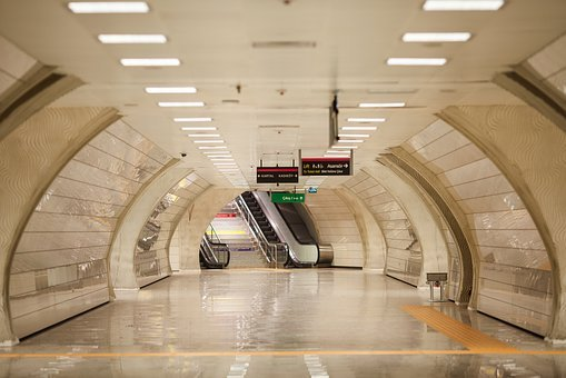 Subway, Road, Is Empty, Architecture, City