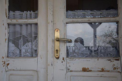 Door, Old, Retro, Old Door, Entrance, House, Lock