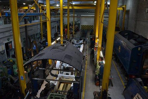 Engineering, Shed, Equipment, Construction, Metallic