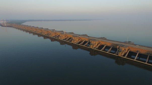 Dam, Haringvllietdam, Delta Works