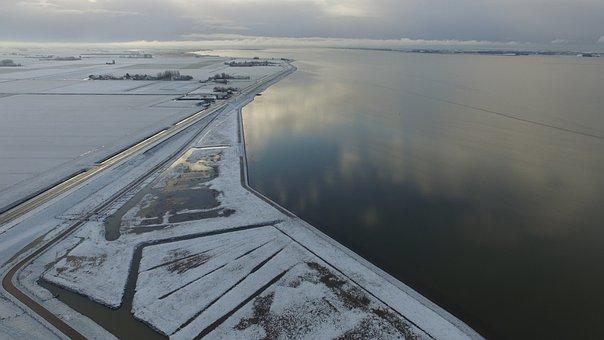 Winter, Snow, Landscape, Snow Landscape, More, Water